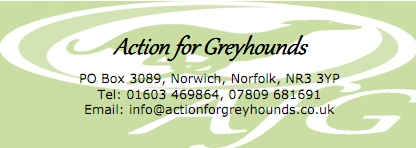 Action For Greyhounds: 01603 469864